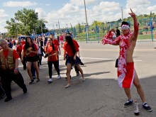 jing wo lion dance calgary 2015 chinese canada day chinatown street festiva #chinatownfest #canadadayyc