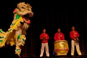 lion dance highwood school chinese new year 2016 concert