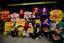 jing wo lion dance calgary 2015 chinese new year saddledome hitmen hockey