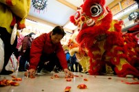 jing wo lion dance calgary 2017 chinese new year temple tpot