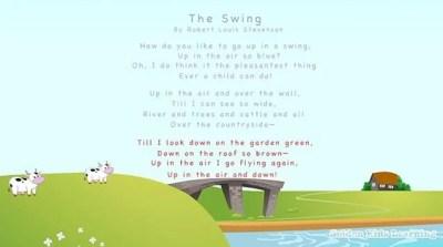 poem Swing