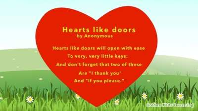 poems Harts like Door