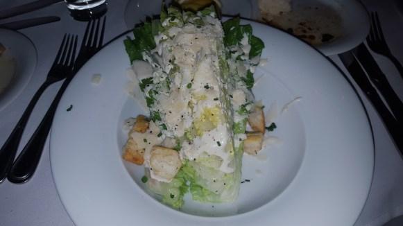 Ceasar Salad at Al Adagio