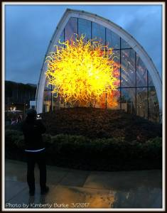 Chihuly Garden and Glass Exhibit