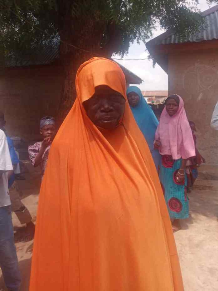 Blind people in Niger state