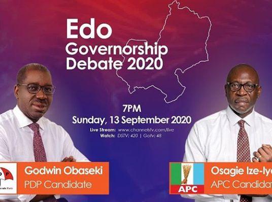 Edo Governorship Debate