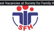 Society for Family Health Recruitment
