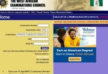 WAEC Result 2020