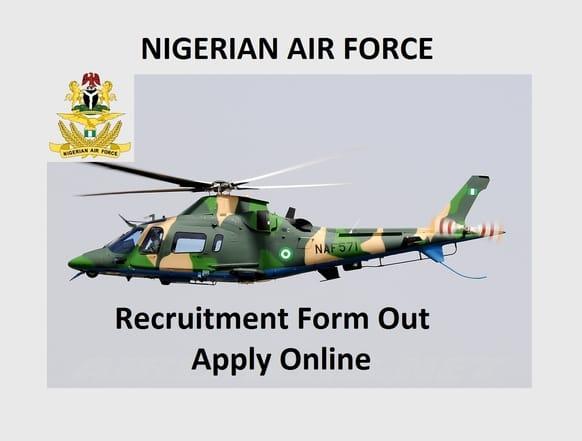 Nigeria Air force 2020 Recruitment