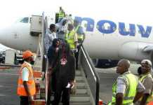 Nigerian returnees from Saudi Arabia