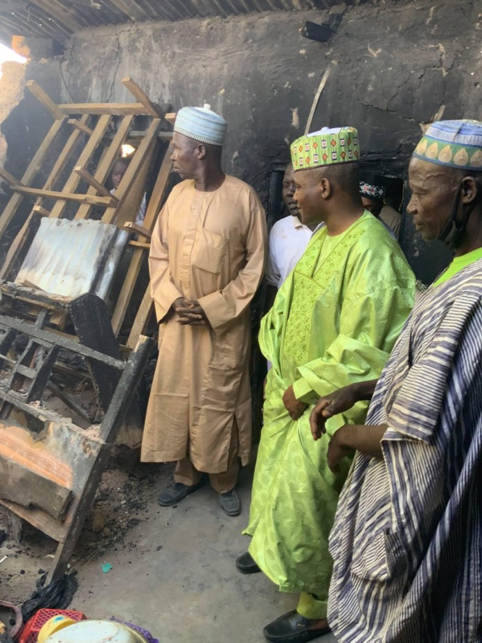 A mother and her two children were burnt to death in a fire outbreak that occurred in Riban Garmu village, Dewu Ward in Kirfi Local Government Area of Bauchi State. Four other persons sustained injuries in the inferno that completely razed the four-bedroom house apartment and are currently receiving treatment at Kirfi General Hospital.