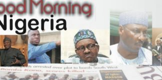 Nigerian Newspaper Headlines For Today