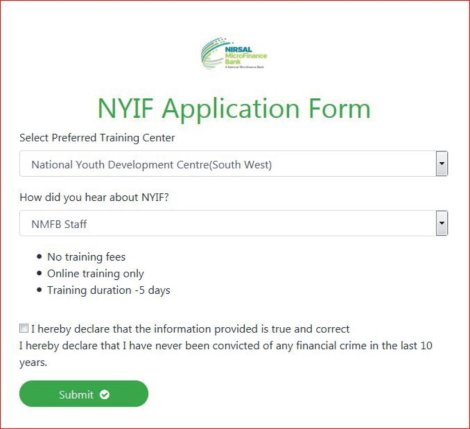 Open nyif application form