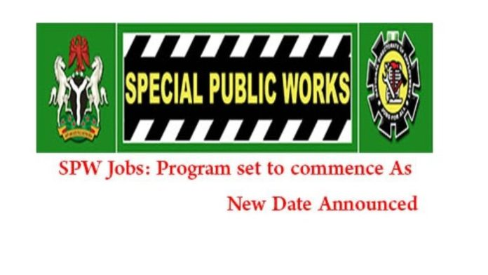NDE SPW 774,000 Jobs: SPW Stipends Updates (May)