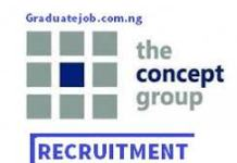 Head, Internal Audit and Compliance at the Concept Group