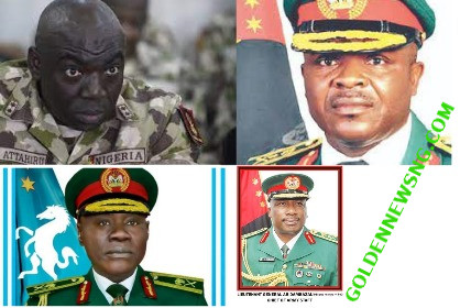 Full List Of Nigeria Army Chief of Staff Since Independent Till Date
