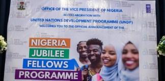 Nigeria Jubilee Fellows Programme (NJFP) 2021