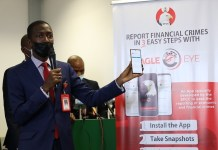 BREAKING: EFCC Launches App Called Eagle Eye For Easy Reporting Of Yahoo- Yahoo And Other Economic Crimes