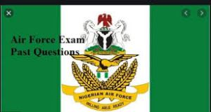 Free Nigerian Air Force Past Questions And Answers