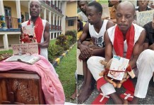 Pastor Bassey Arrested With Human Skull, Charms, Other Fetish Items In Calabar