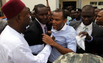 Update: Nnamdi Kanu To Remain With DSS As Court Reject Transfer Request