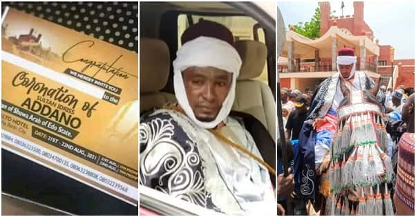 Invitation For The Coronation Of A Sultan In Benin City Surfaces Online