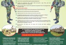 Apply for Nigerian Army Recruitment 2021