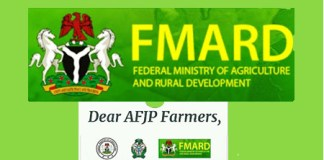 AFJP Fertilizer Subsidy : FMARD Gives Update on Payment