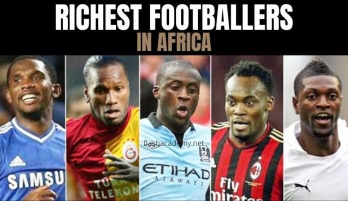 Top 10 Richest African Footballers 2021
