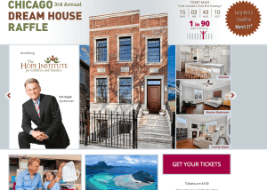Chicago Dream House Raffle Overview Page