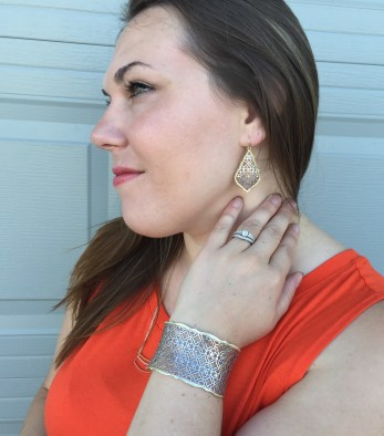 Earrings and Bracelet by Kendra Scott