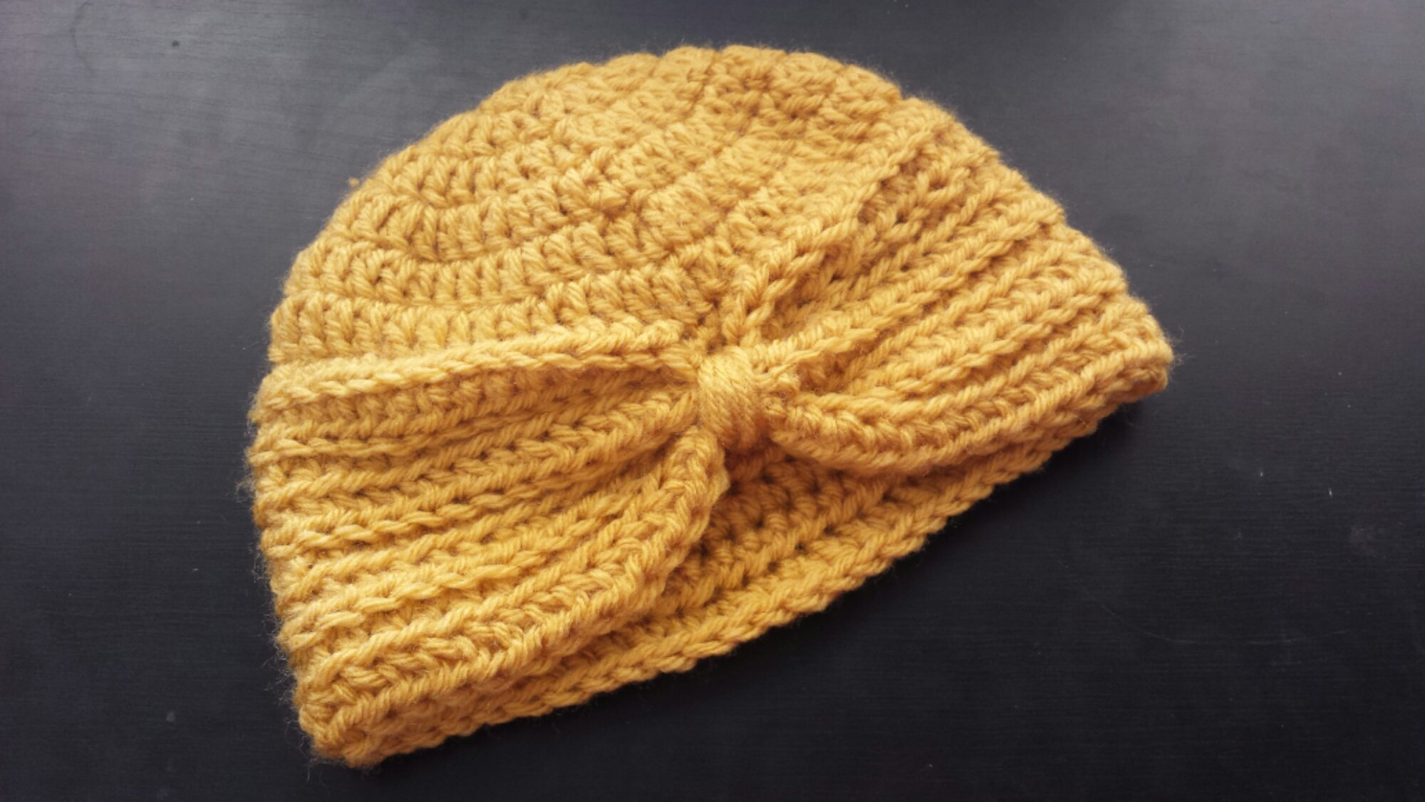 Baby Turban Hat and McKinley Springtime Hat - Golden Rippy