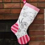 Scientific Seamstress Inspired Stocking