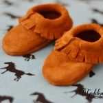 Adorable Baby Moccasins to make!