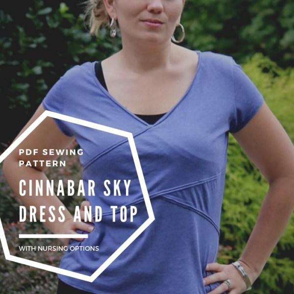 cinnabar sky dress and top pattern