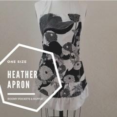 heather ruffle apron pattern