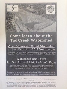 CONSERVATION: Tod Creek Watershed - Bus Tour