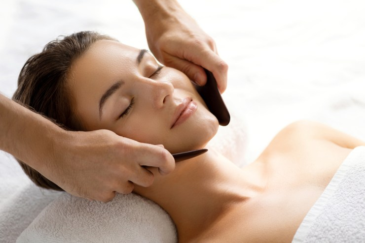 cosmetic acupuncture facials cupping relaxation look younger fine lines wrinkles