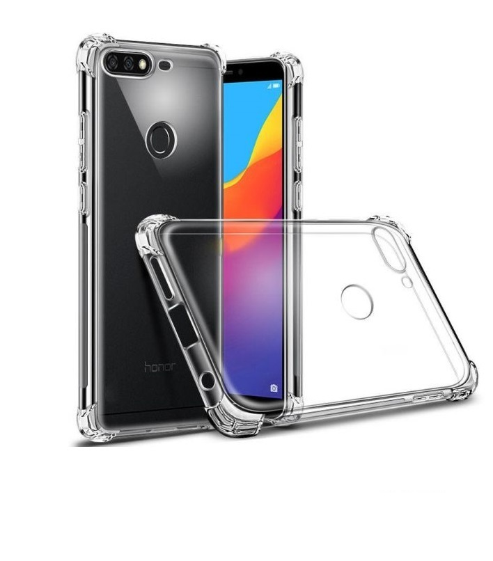 huge selection of 4fd83 8eab8 Huawei Y6 2018 Case Cover Clear ShockProof - goldentech.ie