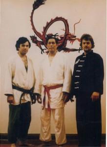 Si Gung Studying Jujitsu Under Master Wally Jay - September 1980