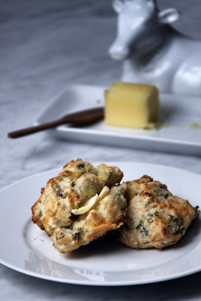 cheddar cheese, buttermilk biscuits, ramps, seasonal, drop biscuits