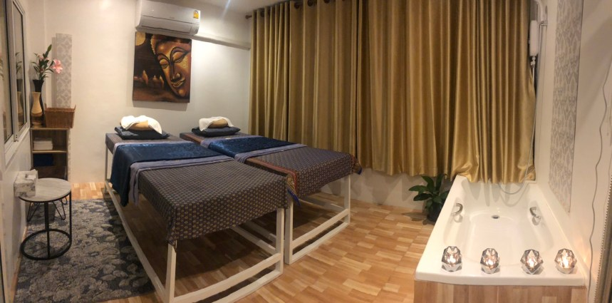 Enjoy a relaxing massage in our Couple Room in Patong Beach