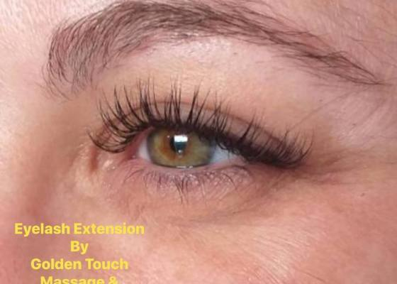 Professional Eyelash Extensions at Golden Touch Beauty Salon 2