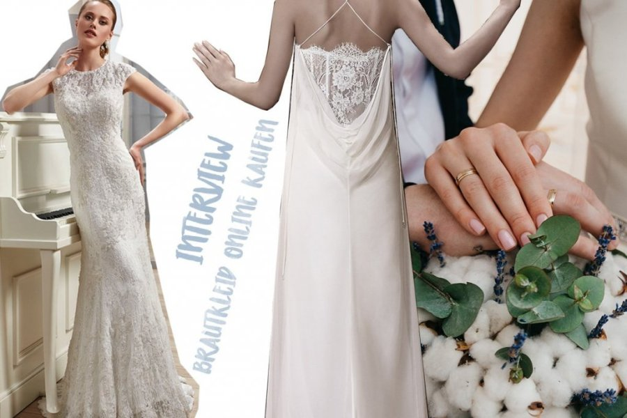Interview ewedding shop     Der Boho Stil geh    rt zu den gr        ten     Collage mit Brautkleidern