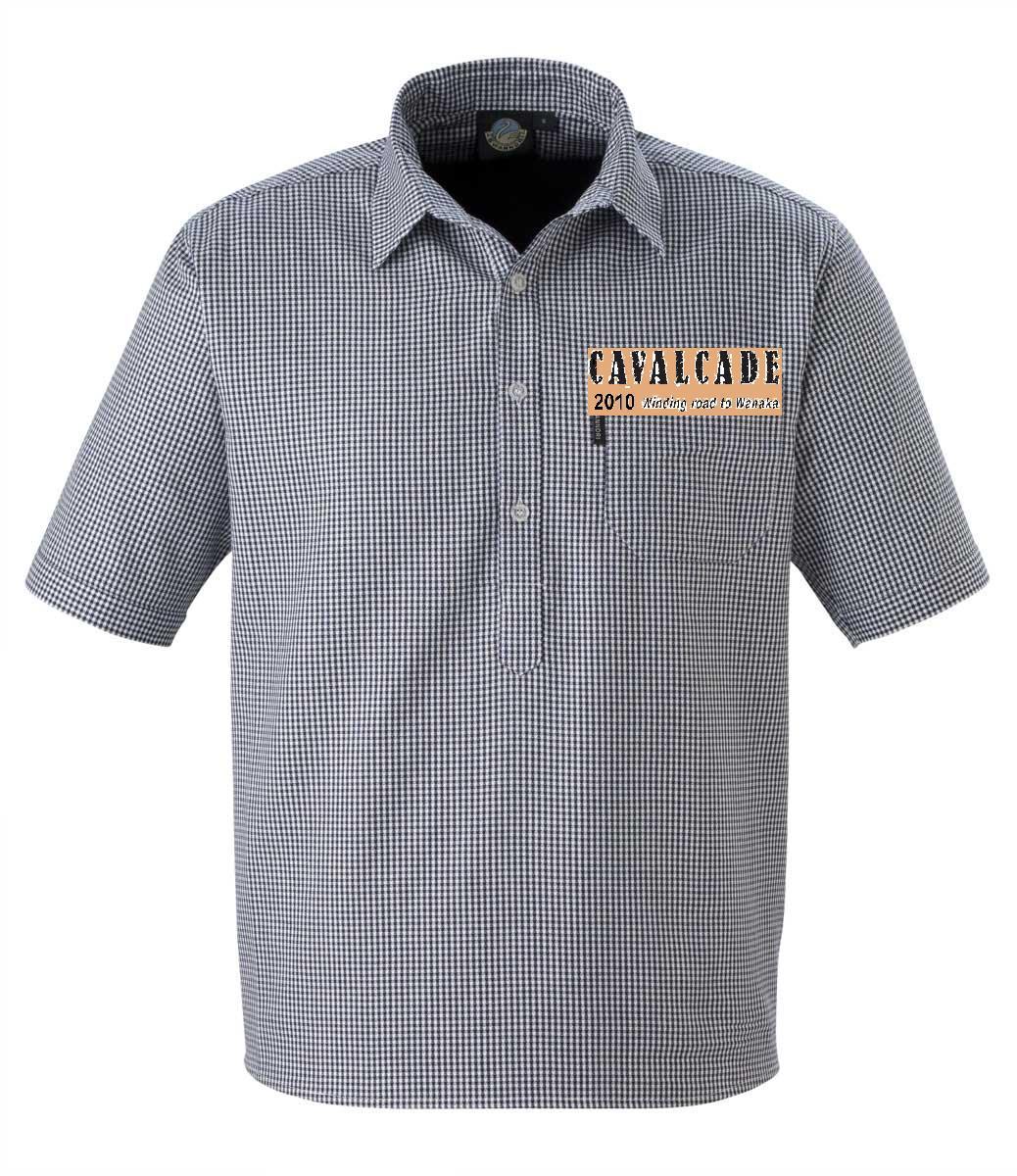 Swanndri mens shirt w logo