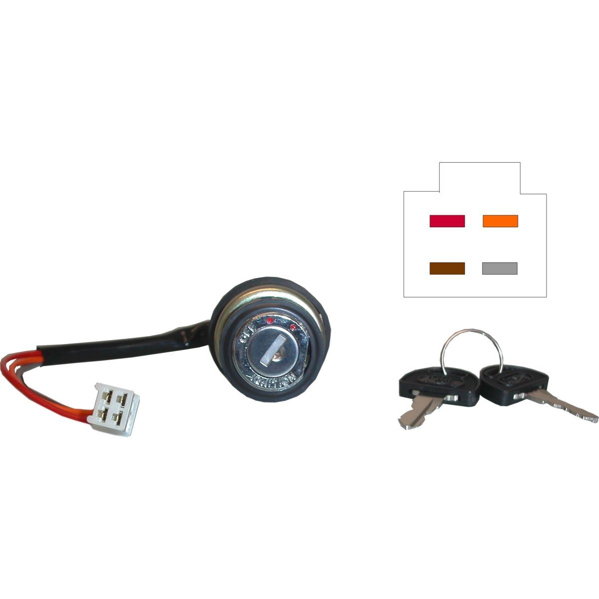 Ignition Switch For Suzuki Gt 380 K