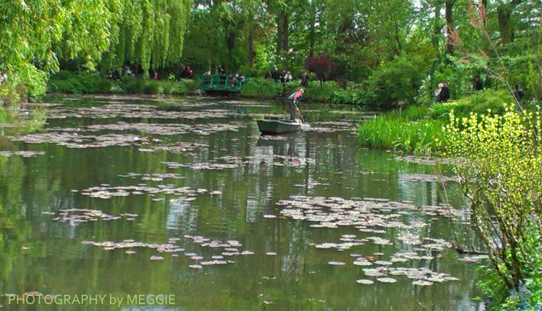 Monets trädgård - Dammannen 3