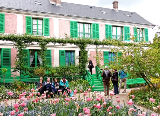 Monets trädgård - Huset