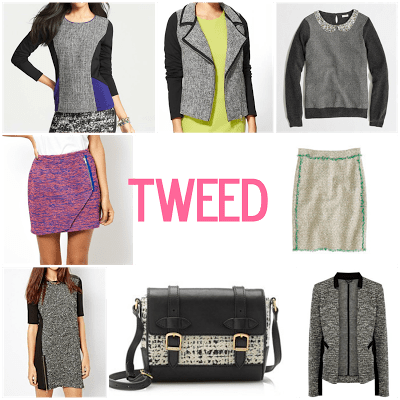 tweed for the younger set.