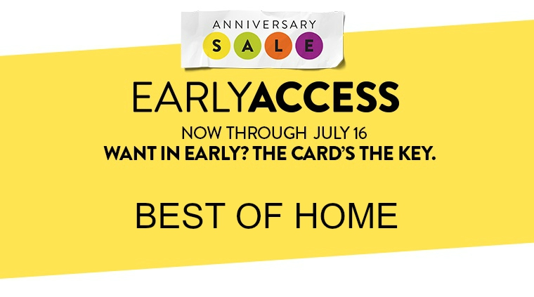 NORDSTROM ANNIVERSARY SALE (EARLY ACCESS) – BEST OF HOME.